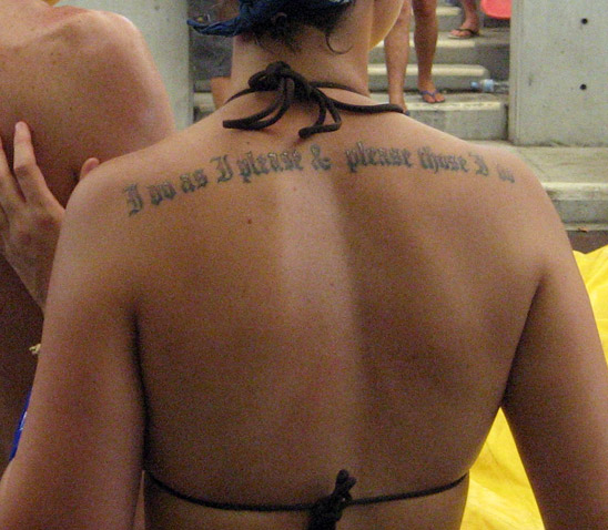 Poleksi: I think I am going to get a map of Poland tattooed on my back.