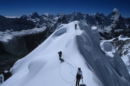 Island Peak Mt. Everest Lobuche Peak Everest region Tibet
