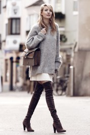 knee long boots