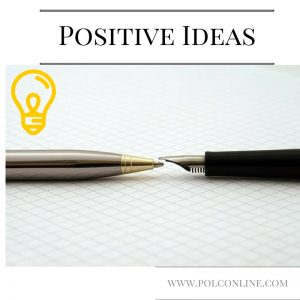 How to get positive ideas