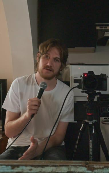 Bo Burnham with Camera