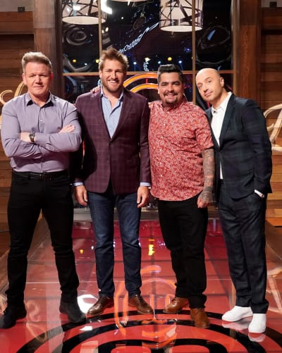 The Guys and Curtis - tall - MasterChef Season 10 Episode 2