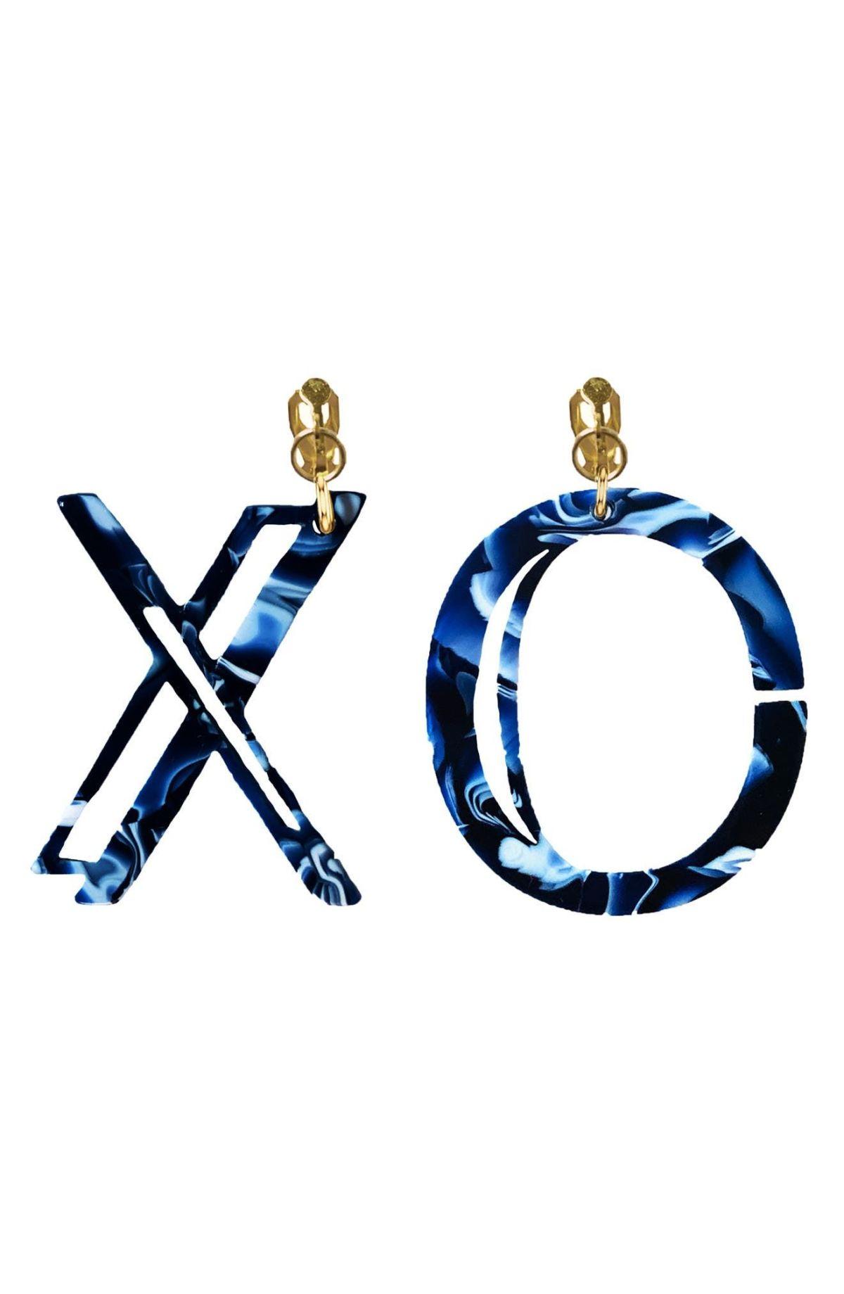 Statement by Nadia XO Clip-On Earrings