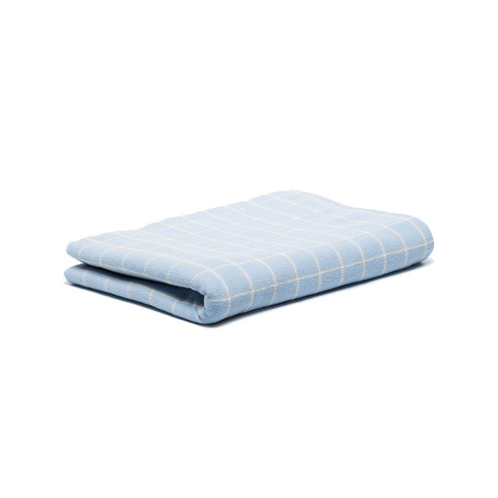 Tartan Pattern Knit Blanket