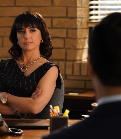 Kathleen Assesses -tall - Good Trouble Season 3 Episode 9