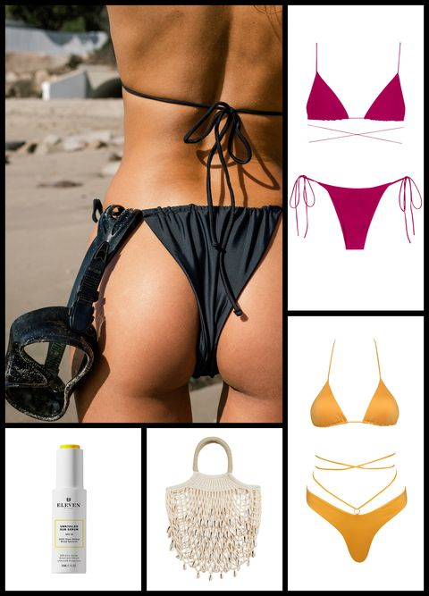 string bikini sunscreen jade swim