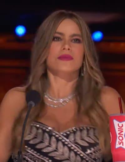 Sofia Vergara Is Happy - America's Got Talent