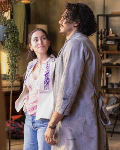 Co-parents at the Coterie  - Good Trouble Season 3 Episode 14