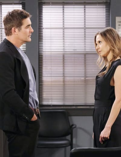 Ava and Rafe Tangle / Tall - Days of Our Lives