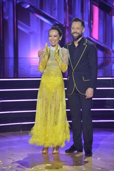 Christine Chiu and pro Pasha Pashkov - Dancing With the Stars Season 30 Episode 1