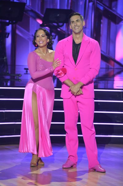 Cody Rigsby and pro Cheryl Burke - Dancing With the Stars Season 30 Episode 1
