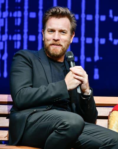 Ewan McGregor Attends Movie Premiere