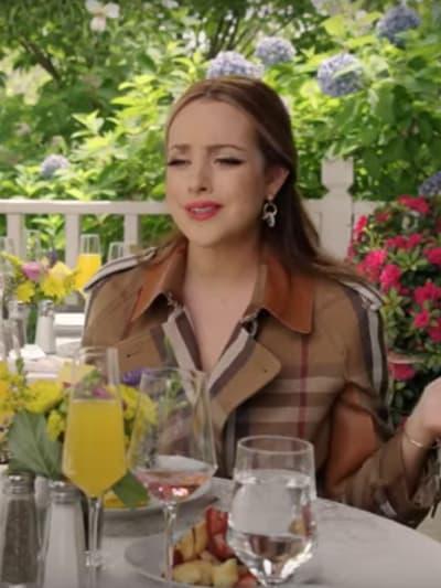 Fallon Unimpressed - Dynasty Season 4 Episode 16