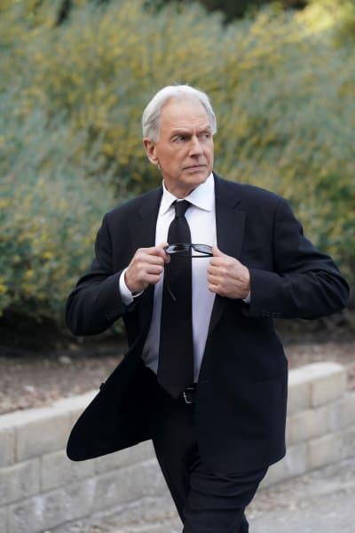 Gibbs at Funeral - NCIS Season 18 Episode 15