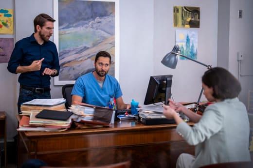 Interpreting Meetings  - New Amsterdam Season 4 Episode 1
