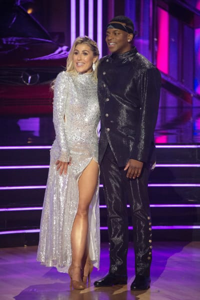 Jimmie Allen and pro Emma Slater  - Dancing With the Stars Season 30 Episode 1