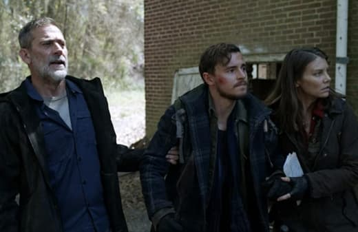 Maggie, Negan, and Alden - The Walking Dead