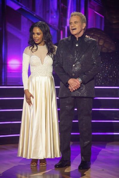 Martin Kove and Britt Stewart - Dancing With the Stars Season 30 Episode 1