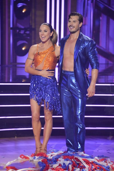 Mel C and pro Gleb Savchenko  - Dancing With the Stars Season 30 Episode 1