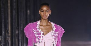 model walks the runway during the isabel marant fashion news photo 1632863360