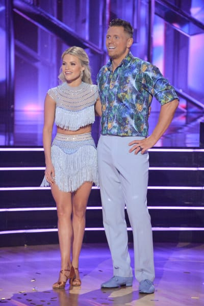 The Miz and pro Witney Carson - Dancing With the Stars Season 30 Episode 1