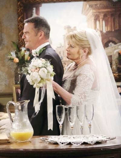 Xander Crashes Bonnie's Wedding / Tall - Days of Our Lives