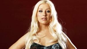 Christina Aguilera smolders glam ftr