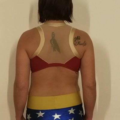 Ensemble Wonder Woman model 2