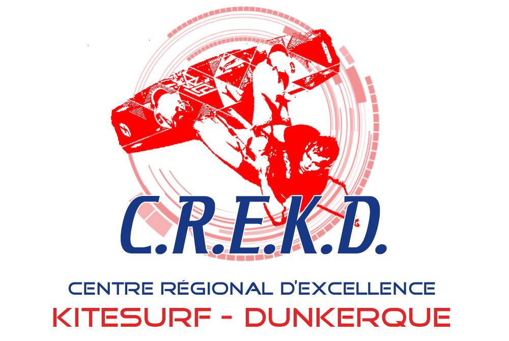 Logo du Centre Régional d'Excellence Kitesurf Dunkerque