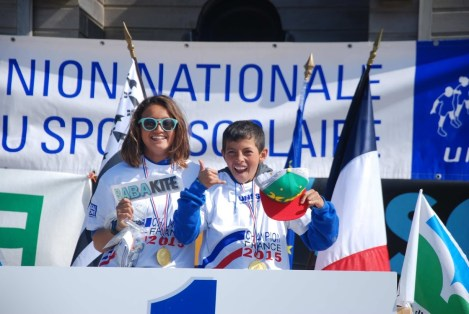 Champions de France UNSS Collège Excellence