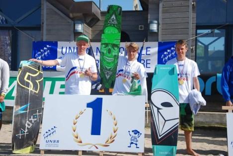 Champions de France UNSS Lycée Excellence