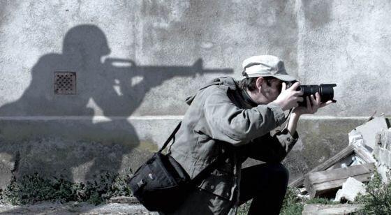 Periodistas en riesgo. Foto: @RSF_ES