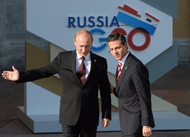 Peña y Putin