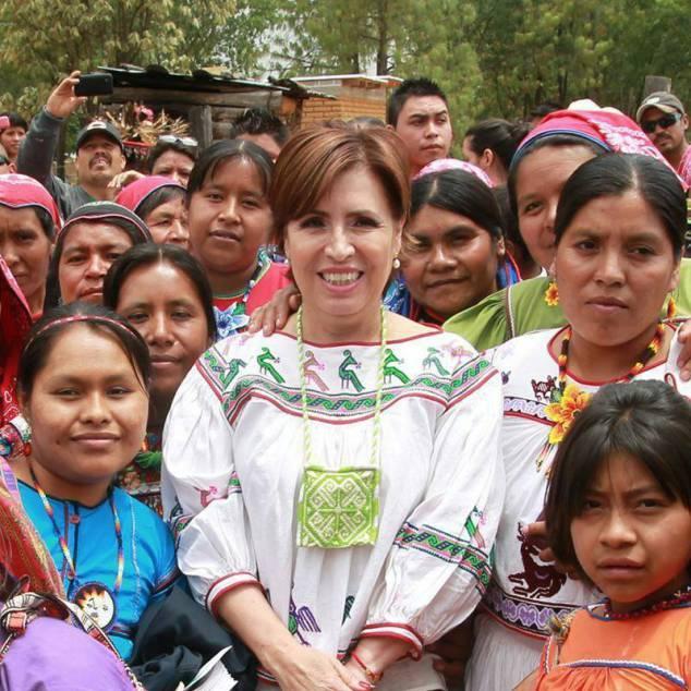 Rosario Robles. Foto: Facebook
