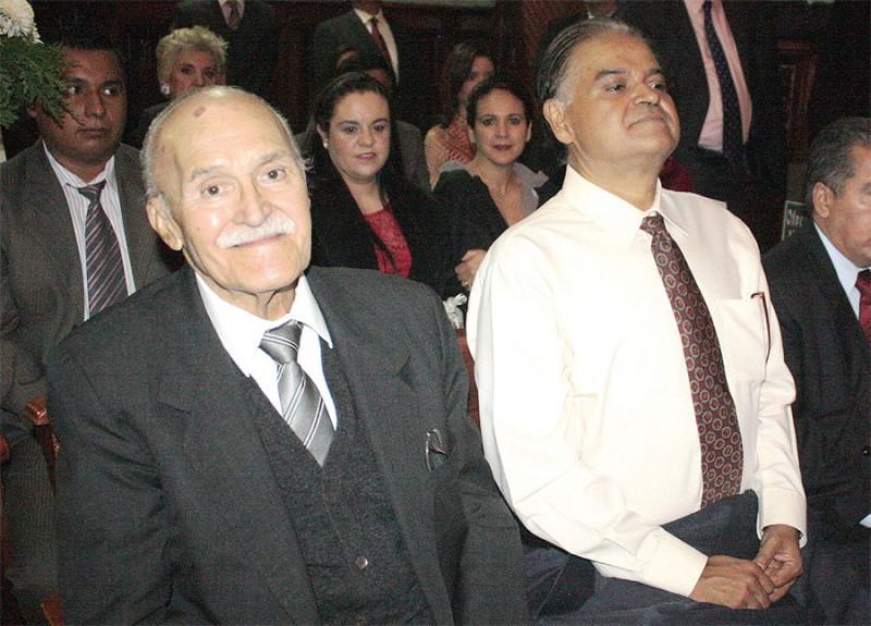 Salvador Cosío Gaona es hijo del ex gobernador priista, Guillermo Cosío Vidaurri (en la foto), uno de los presuntos responsables de las explosiones del 22 de abril de 1992 en Guadalajara. Foto: El Respetable