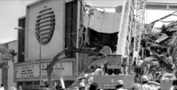 Así afectó el terremoto de 1985 a las instalaciones de Televisa.