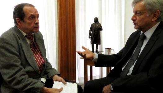 El día que Jaime Avilés entrevistó a AMLO, relatado por él mismo