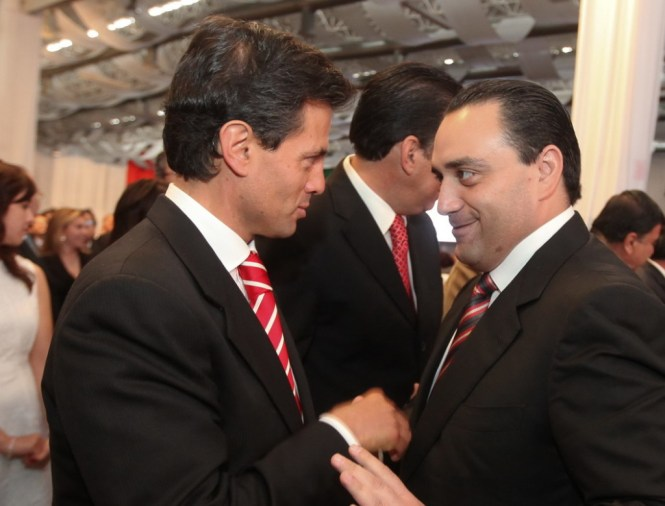 Peña Nieto y Beto Borge. Foto: Internet