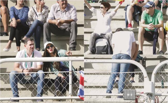 Alfredo Castillo y su novia en Río 2016. Foto: Especial