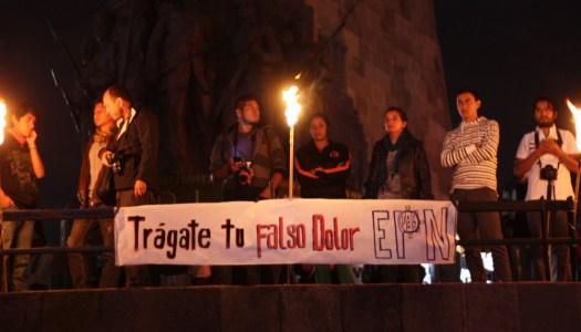 Si piensas diferente acallan tu voz con disparos: normalistas de Ayotzinapa