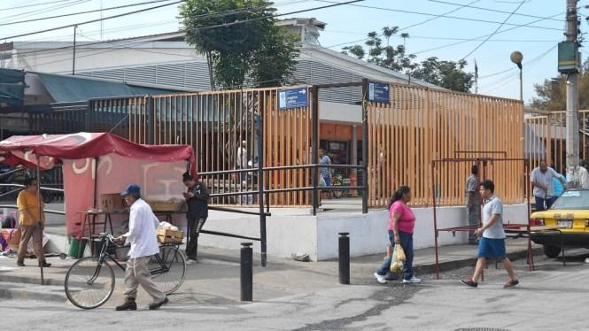 La vida cotidiana en el Mercado de Polanco. Foto: Irma Cecilia Villalobos Medina