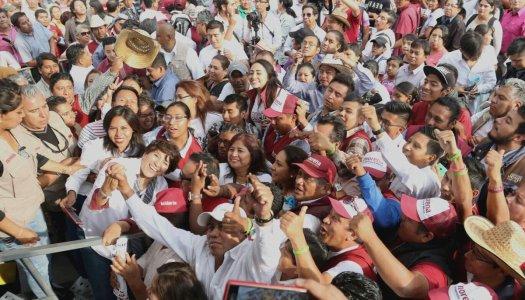 Maestros de la CNTE ayudarán a Delfina a cuidar la elección