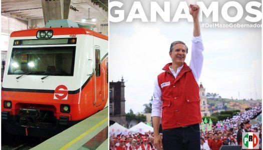 "Tras ""triunfo"" de Alfredo del Mazo, aumentará precio del Tren Suburbano"