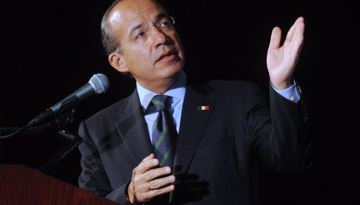 """Felipe Calderón dará una """"cátedra"""" sobre violencia y crimen organizado"""