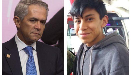 Silencio cómplice: Mancera y la desaparición de Marco Antonio