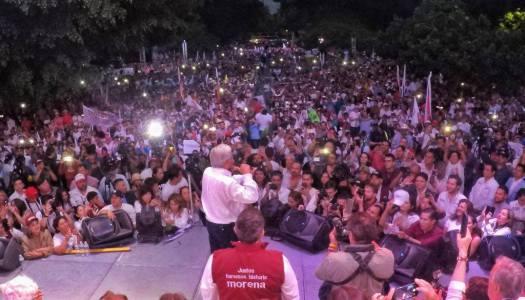 AMLO apuesta a mítines en plazas públicas; Meade y Anaya a espacios cerrados
