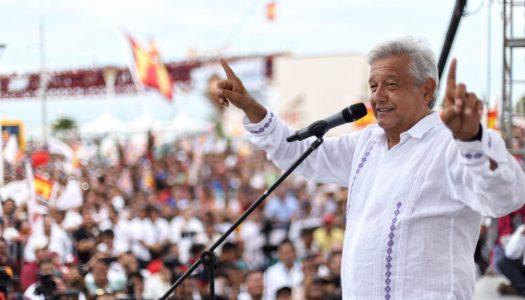 A 15 días de las elecciones, AMLO arrasa en las encuestas