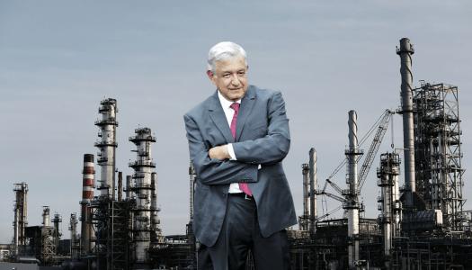 AMLO construirá dos refinerías para dejar de comprar gasolina en el extranjero
