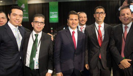 Peña Nieto tiene 901 delegados con salarios de hasta 192 mil pesos