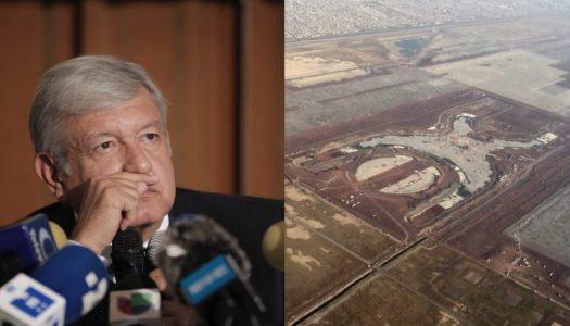 AMLO someterá a consulta futuro del Nuevo Aeropuerto; La gente decidirá